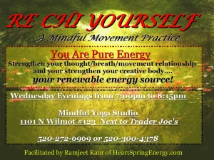 RECHI YOURSELF 2 YELLOW WEEKLY CLASS HEART SPRING ENERGY MINDFUL YOGA ENERGY MEDICINE TUCSON ARIZONA LOVE COMPASSION ENERGY MEDICINE HEALING ARTS LOVE COMPASSION KINDNESS FORGIVENESS TRANCE WORK
