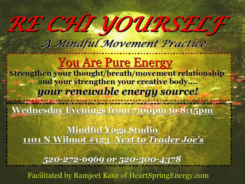 RE CHI YOURSELF! Mindful Energy Movement