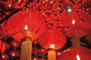 Chinese Red Lamps