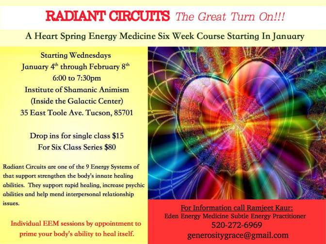 RADIANT CIRCUITS the great turn on!